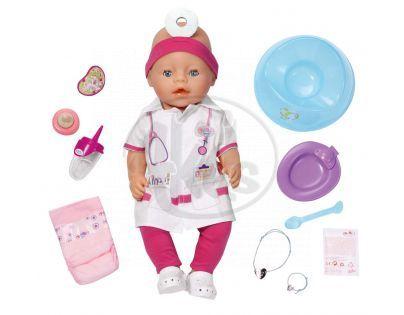 BABY born 819173 - Interaktivní BABY born® Doktorka, 43 cm