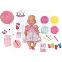 Baby Born Interaktivní Narozeninová panenka