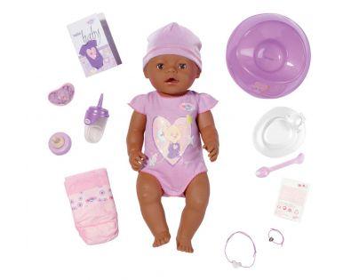 BABY born 819210 - Interaktivní BABY born®, 43 cm, černoušek