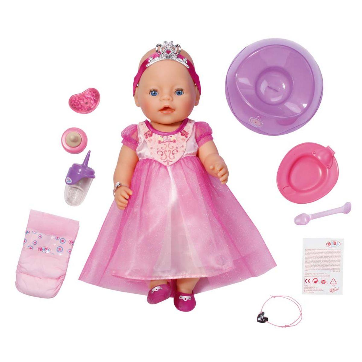BABY born®  819180 - Interaktivní BABY born® Princezna, 43 cm