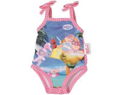 Baby Born Jednodílné plavky - S koktejlem
