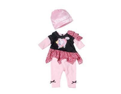 Baby Born Klasické oblečení do města - Čepička růžová světle