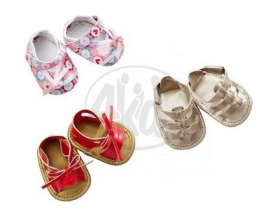 Baby born Módní botičky - fialové s puntíky