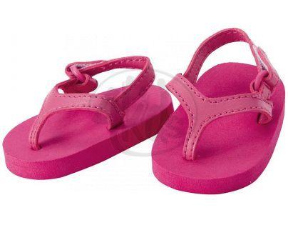 Baby born Módní botičky - sandály růžové