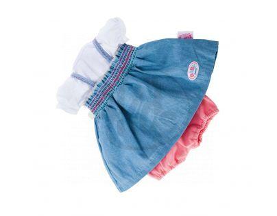 Baby Born Módní oblečení 3 druhy - Modrá