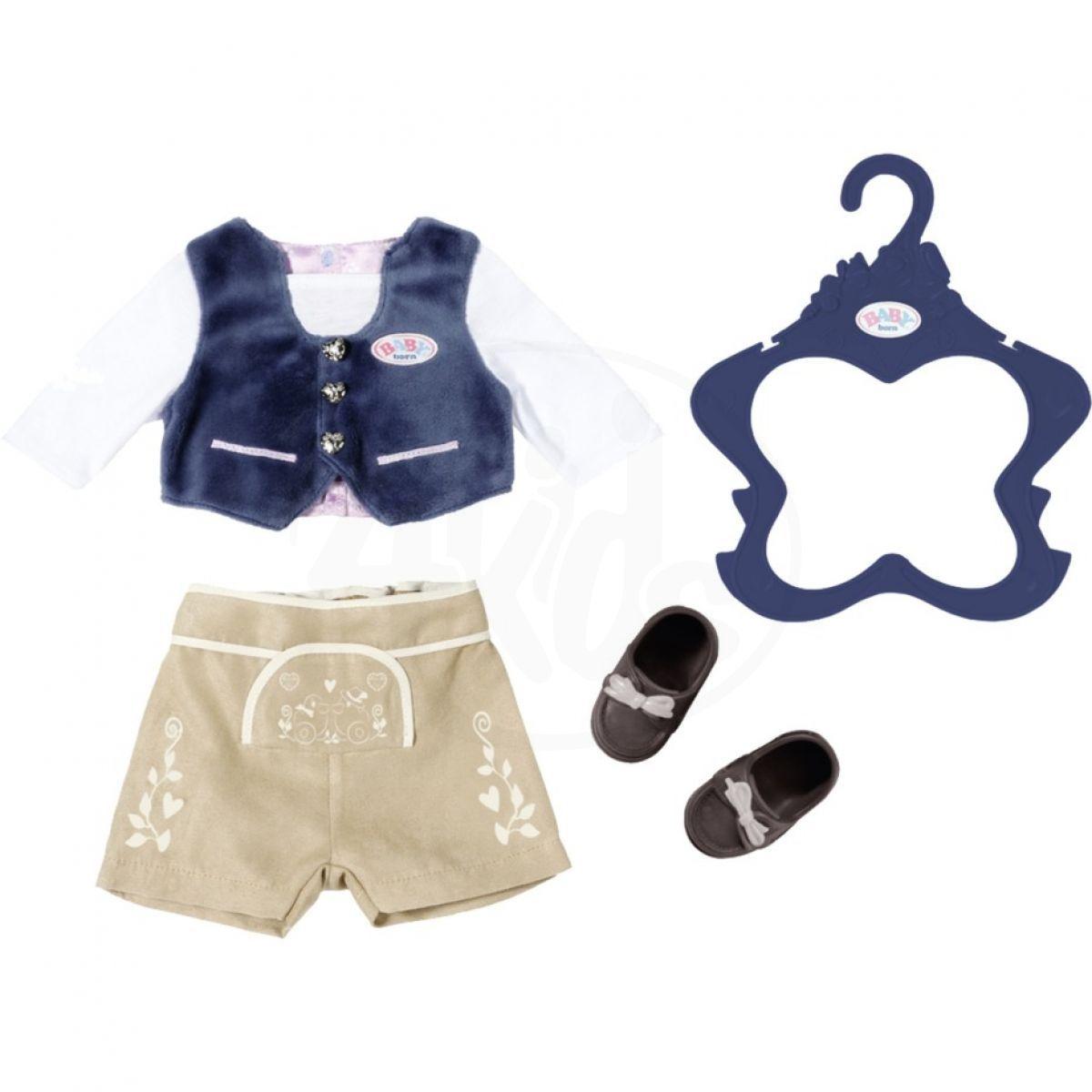 Baby Born Oblečení Chlapecký kroj pro panenku