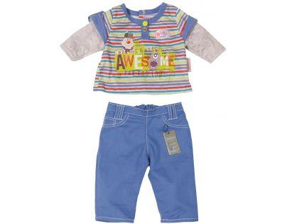 Baby Born Oblečení na chlapečka - Modré kalhoty