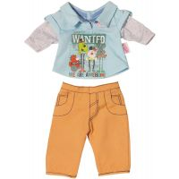 Baby Born Oblečení na chlapečka - Oranžové kalhoty