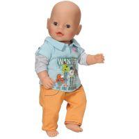 Baby Born Oblečení na chlapečka - Oranžové kalhoty 2