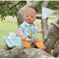Baby Born Oblečení na chlapečka - Oranžové kalhoty 3