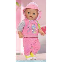 Baby Born Oblečení na jogging - Růžová 3