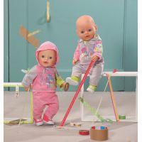Baby Born Oblečení na jogging - Růžová 4