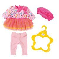 Baby Born Oblečení Šatičky s čepičkou Růžové
