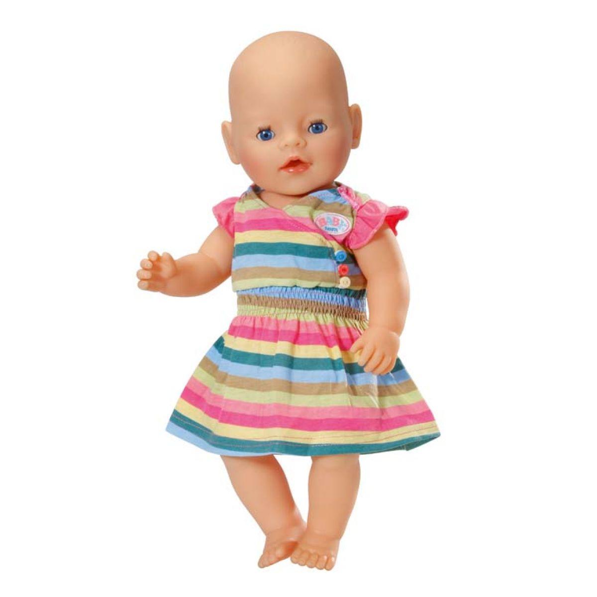 Baby Born Oblečení 3 druhy Zapf - Barevné pruhované