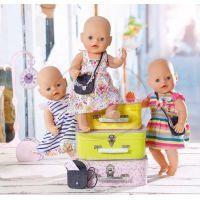 Baby Born Oblečení 3 druhy Zapf - Barevné pruhované 3