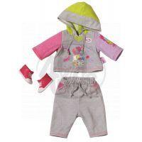 Baby Born Oblečení na jogging - Šedá