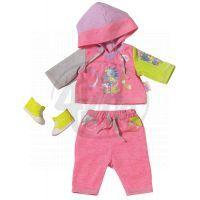 Baby Born Oblečení na jogging - Růžová