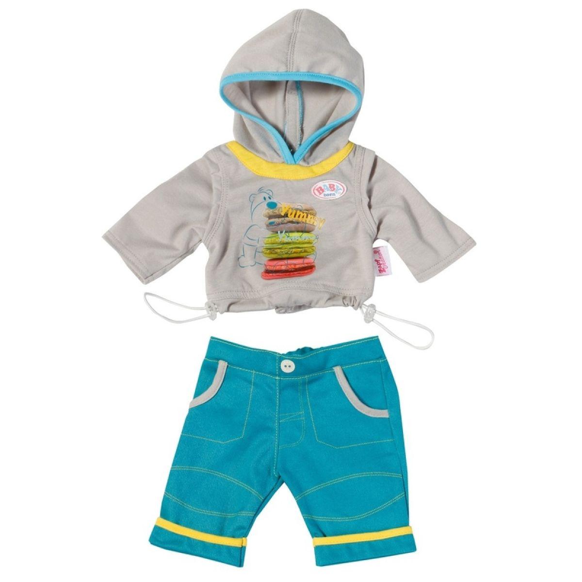 Baby Born Oblečení pro chlapečka 821411 - Hamburgery