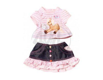 Baby Born Oblečení se zvuky zvířátek - Koník