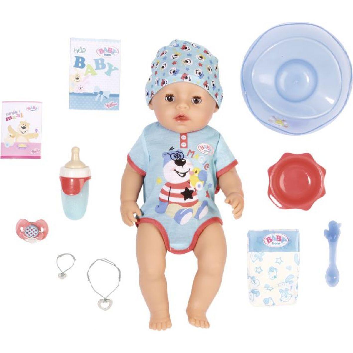 Baby Born s čarovným cumlíkom Chlapček 43 cm