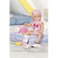 Baby Born s kouzelným dudlíkem holčička 43 cm 2