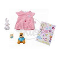 BABY born 819616 - BABY born® Sada 3 zvířátek, tričko a samolepky