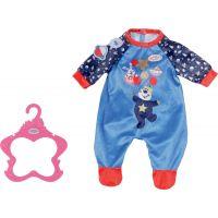 Baby Born Sametový overal Narozeninová edice 43 cm Modrý
