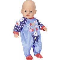 Baby Born Sametový overal Narozeninová edice 43 cm Modrý 2