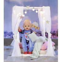 Baby Born Sametový overal Narozeninová edice 43 cm Modrý 3