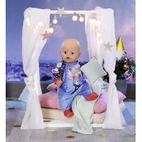 Baby Born Sametový overal Narozeninová edice 43 cm Modrý 4