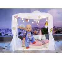 Baby Born Sametový overal Narozeninová edice 43 cm Modrý 5