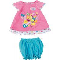 BABY born Šatičky s motýlkem růžové tričko