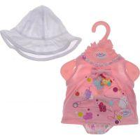Baby Born Šaty s klobúčikom - Biela čiapočka 3