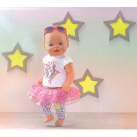 Zapf Creation Baby Born Slavnostní souprava se sukénkou 4