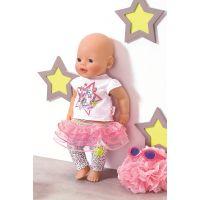Zapf Creation Baby Born Slavnostní souprava se sukénkou 5