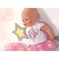 Zapf Creation Baby Born Slavnostní souprava se sukénkou 6