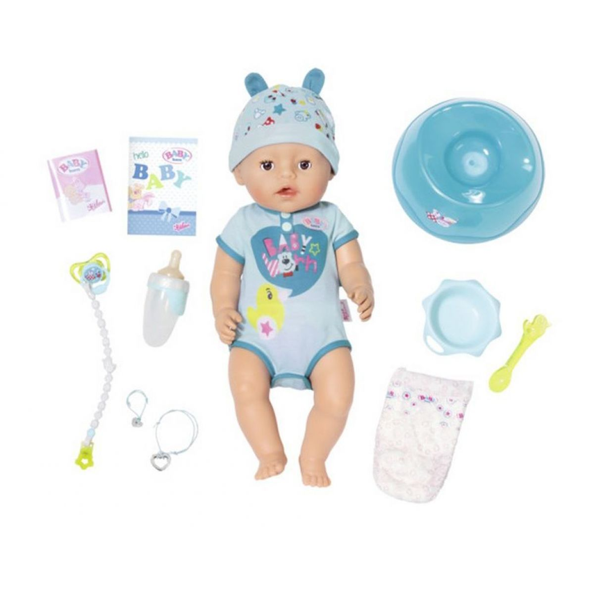 Zapf Creation Baby Born Soft Touch chlapeček 43 cm