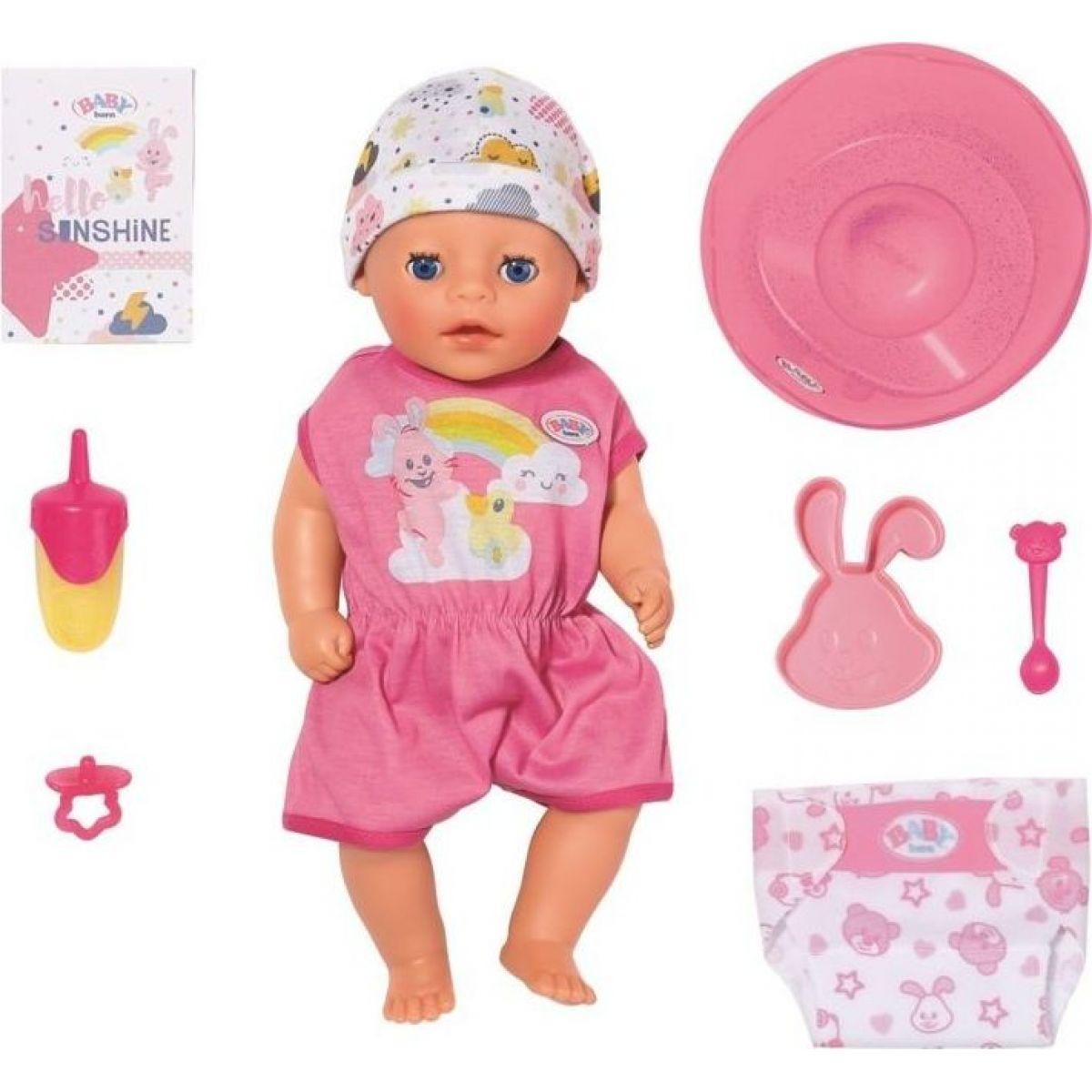 Zapf Creation BABY born Soft Touch Little holčička 36 cm