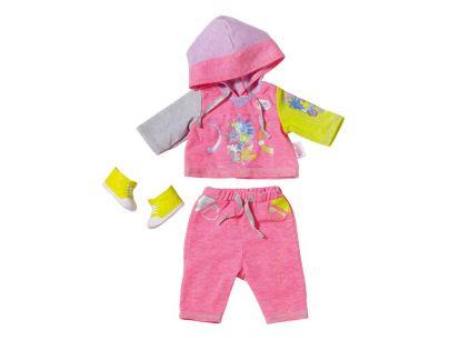 Baby Born Souprava na jogging - Růžová