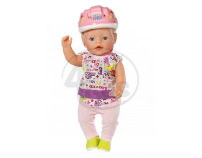 BABY born 819906 - Souprava oblečení s přilbou