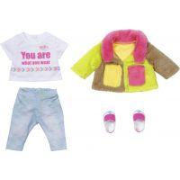 Baby Born Souprava s barevným kabátem Deluxe 43 cm