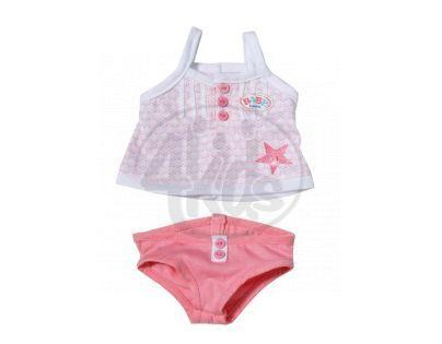 Baby Born Spodní prádlo - Tílko růžové