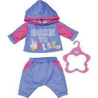 Baby Born Teplákovka 2 druhy 43 cm modrá