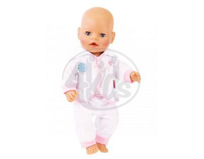 Baby Born tepláková souprava, 3 druhy - Bílá