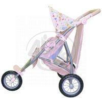 BABY born 817506 - Tříkolový kočárek pro dvojčata 2