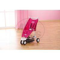 Baby Born Tříkolový kočárek růžový 2