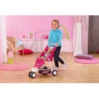 Baby Born Tříkolový kočárek růžový 3