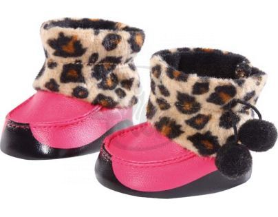 Baby Born Zimní botičky 816806 - Baby Born Zimní botičky růžové