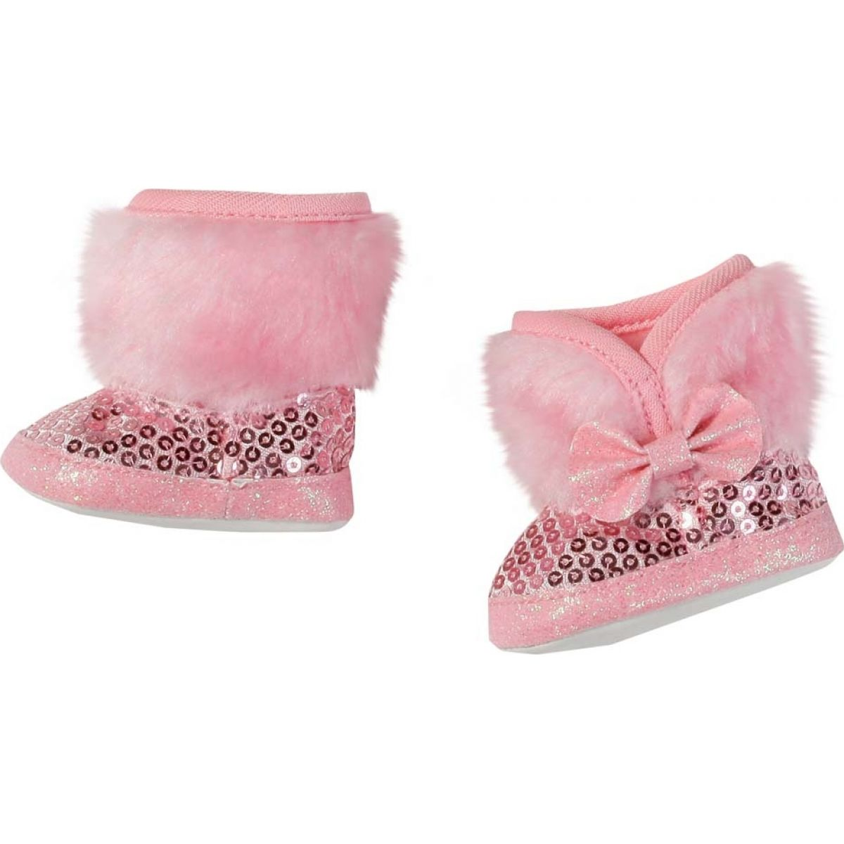 Baby Born 823880 Zimní boty - Růžová