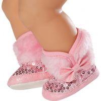 Baby Born 823880 Zimní boty - Růžová 2